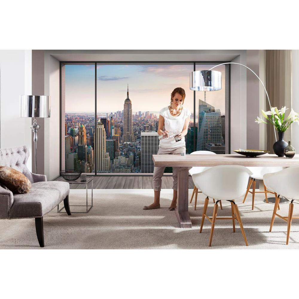 Komar 100 in x 145 in penthouse wall mural 8 916 the home depot penthouse wall mural amipublicfo Image collections