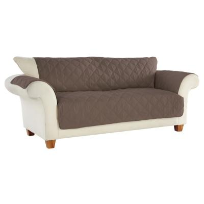 No Slip Furniture Protector Sofa Handcast Pewter