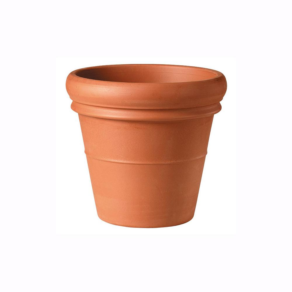 Clay Heavy Rim Pot Southern Patio 22
