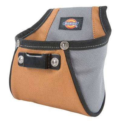 Rigid Nail / Screw Work Pouch Grey / Tan