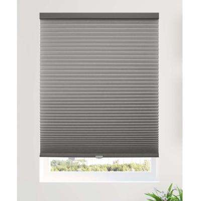 Cut-to-Width Fog 9/16 in. Light Filtering Cordless Cellular Shade - 54 in. W x 48 in. L