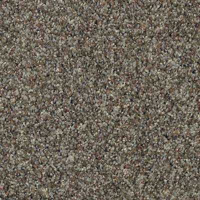 Carpet Sample - Barx I - Color Mineral Textured 8 in. x 8 in.