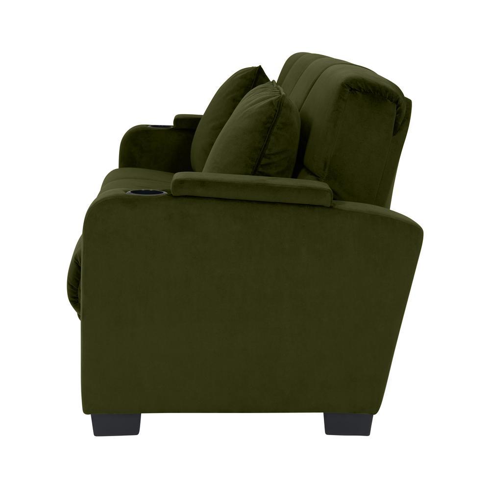Groovy Handy Living Sophia Kale Green Velvet Storage Arm Convert A Frankydiablos Diy Chair Ideas Frankydiabloscom