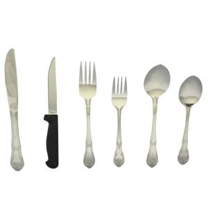 Click here to buy GIBSON Alessandro Plus 24-Piece Stainless Steel Flatware Set by GIBSON.