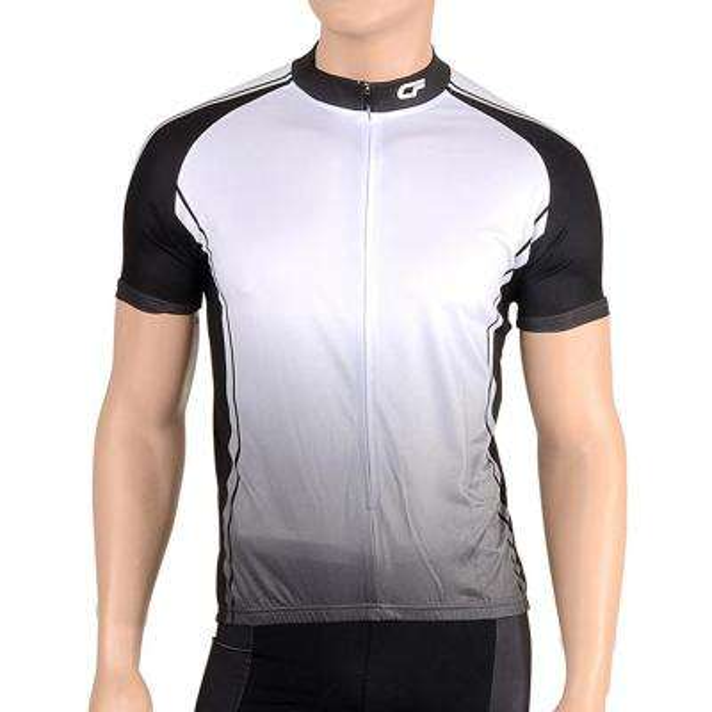 Triumph Men's Medium Black Cycling Jersey
