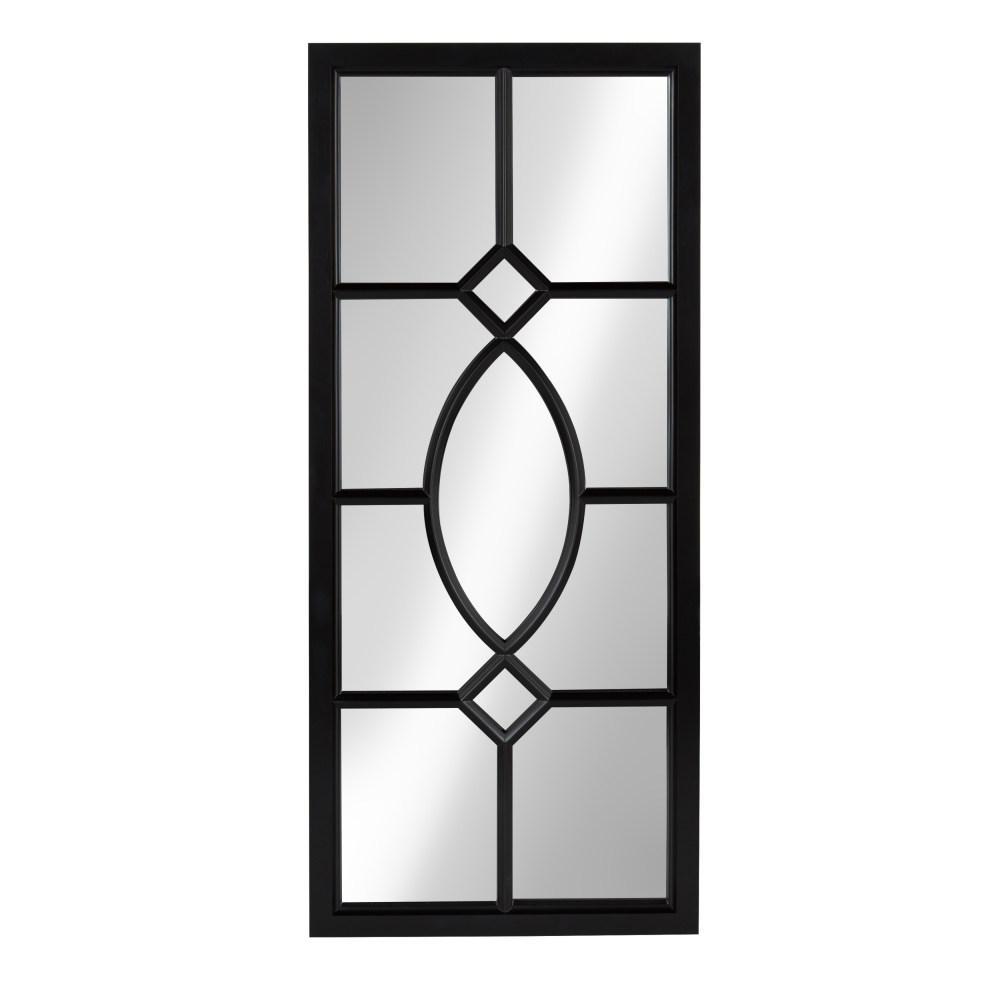 Cassat Rectangle Black Mirror