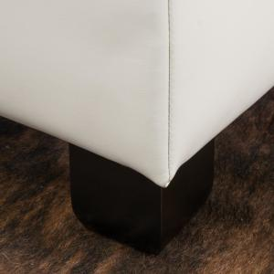 Superb Noble House Richmond Ivory Pu Leather Storage Ottoman 7802 Pdpeps Interior Chair Design Pdpepsorg