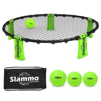 Slammo Game Set (Includes 3 Balls, Portable Carrying Case and Rules)