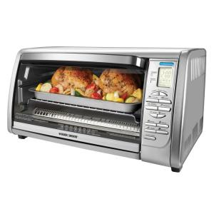 Click here to buy Black & Decker 6-Slice Digital Convection Toaster Oven in Stainless Steel by BLACK+DECKER.