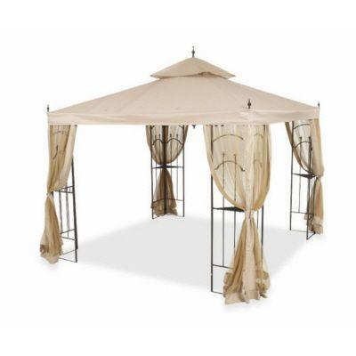 Replacement Netting Outdoor Patio for 10 ft. x 10 ft. Arrow Gazebo