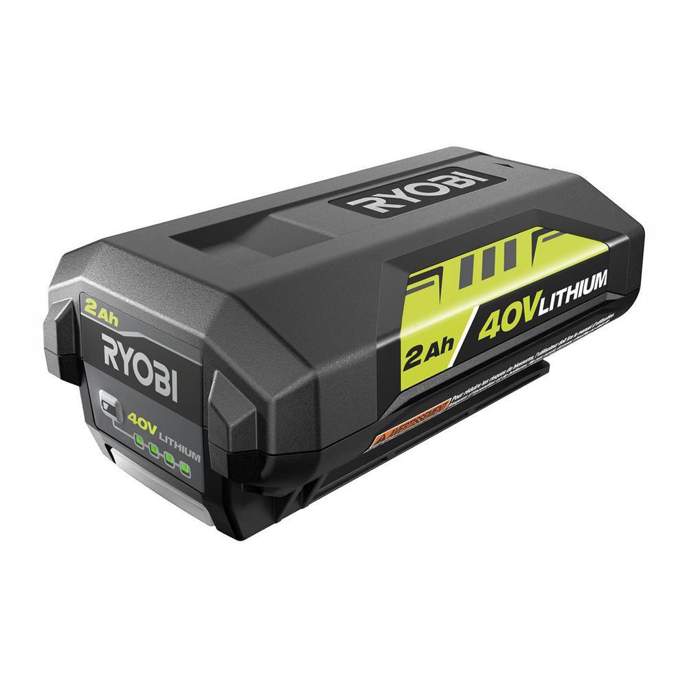 RYOBI 40-Volt Lithium-Ion 2.0 Ah Battery
