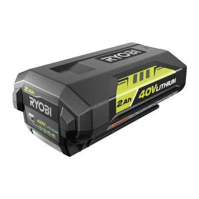 40-Volt Lithium-Ion 2 0 Ah Battery