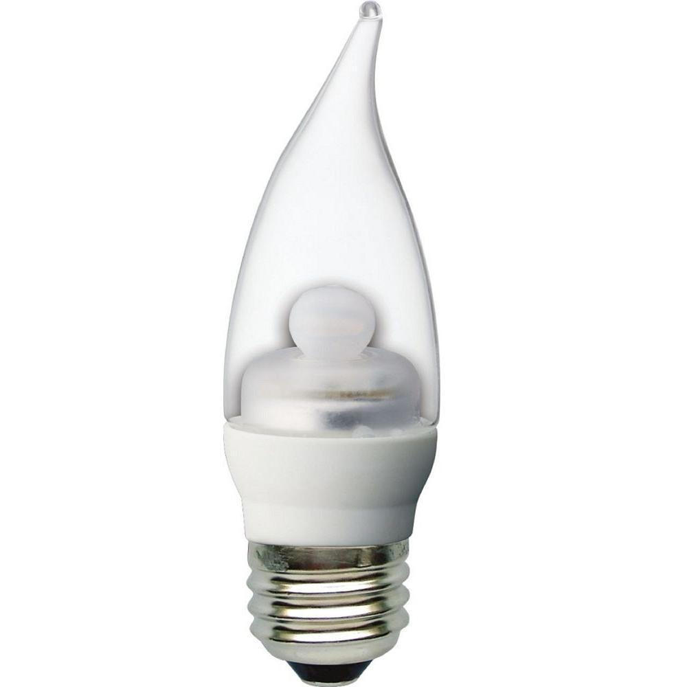 GE 40W Equivalent Daylight (5000K) CAM Clear Dimmable LED Light Bulb
