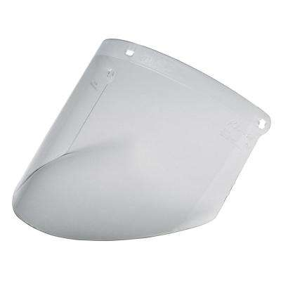 WP96 Clear Polycarbonate Faceshield, Molded (Case of 10 Eaches)
