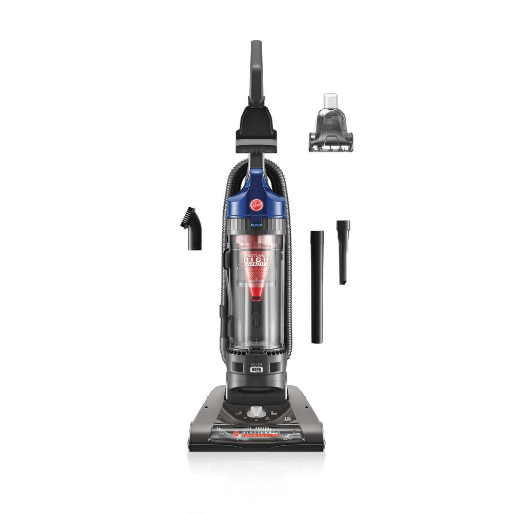 Hoover WindTunnel 2 High Capacity Bagless Upright Vacuum Cleaner in Blue