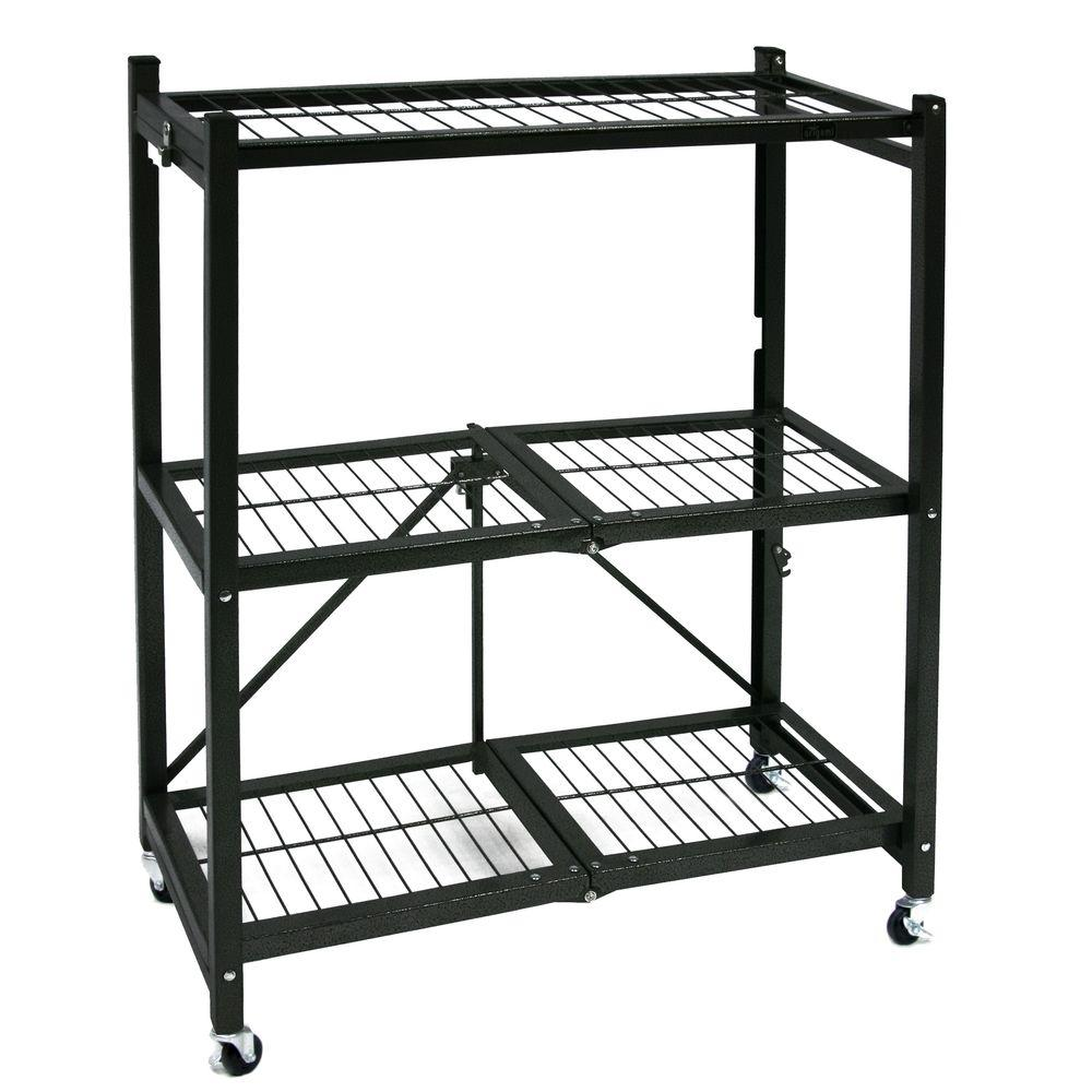 General Purpose Folding Metal Shelf