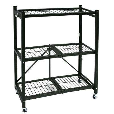 36.2 in. x 14.1 in. x 4.1 in. General Purpose Folding Metal Shelf