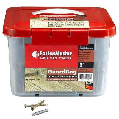 Guard Dog 2 in. Wood Screw (1750 per Pack)