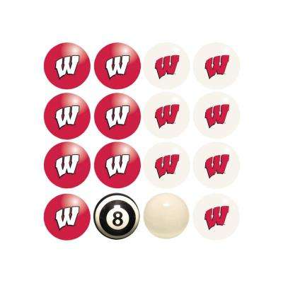 University Of Wisconsin Home Versus Away Billiard Ball Set