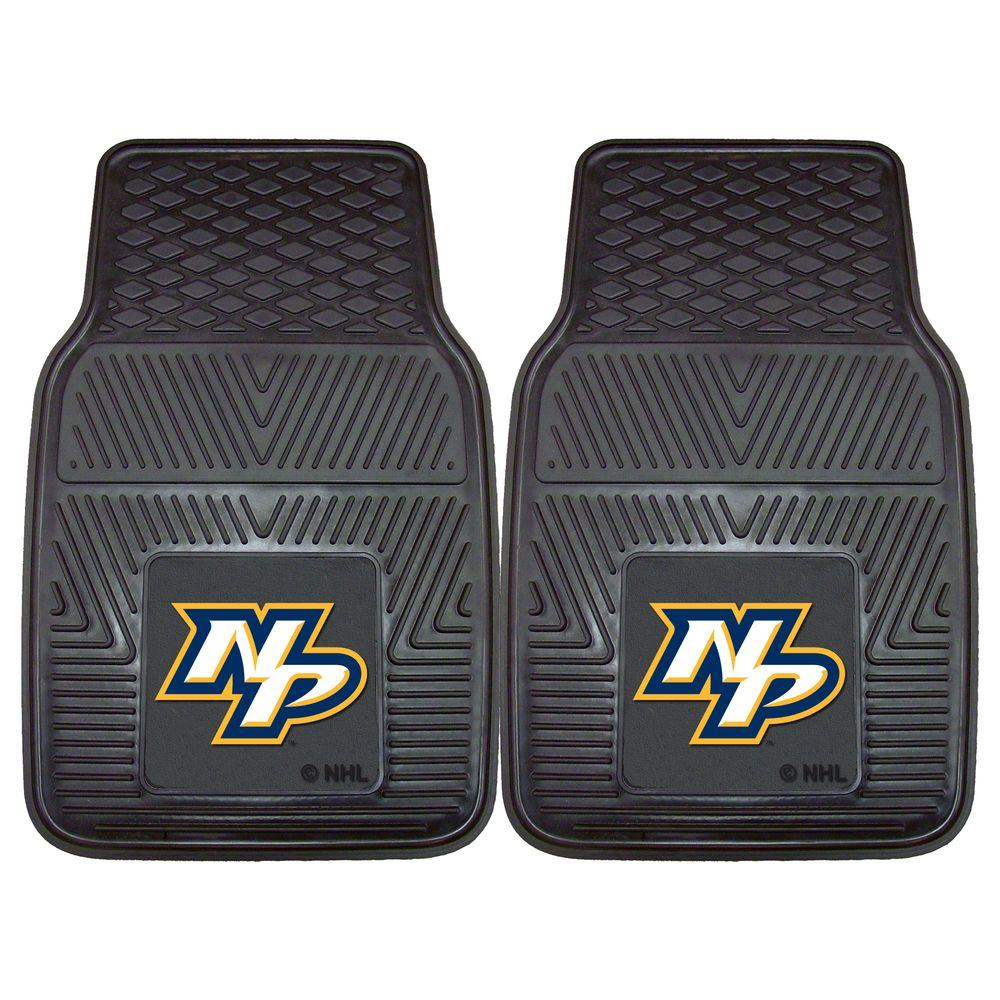 Fanmats Nashville Predators 18 In X 27 In 2 Piece Heavy