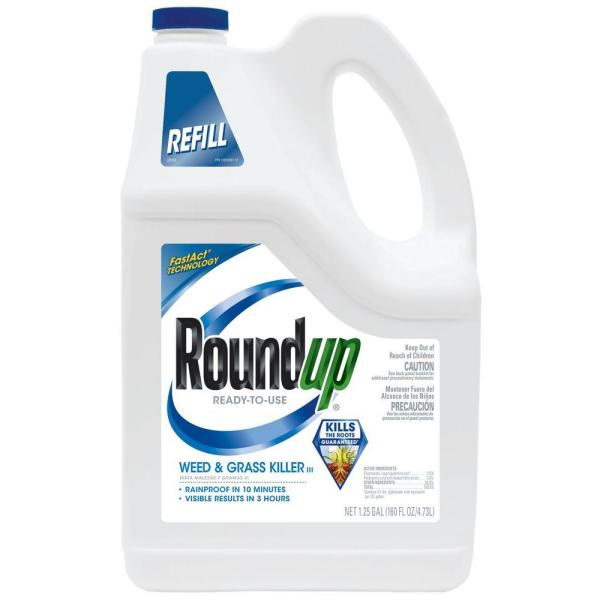 1.25 Gal. Ready-to-Use Weed and Grass Killer Pump 'N Go Refill