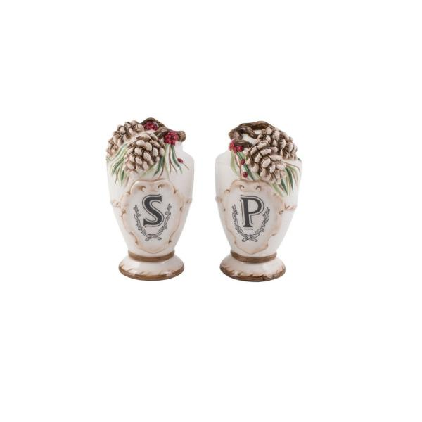 Forest Frost Salt and Pepper Shaker