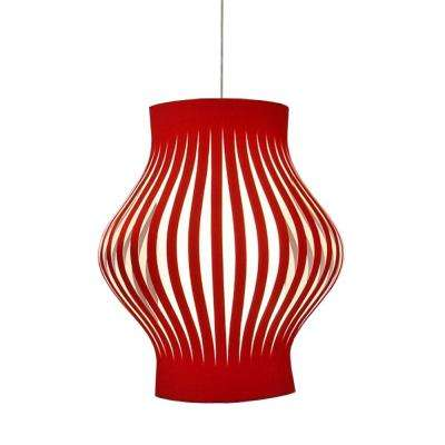 No Shade Red Pendant Lights Lighting The Home Depot