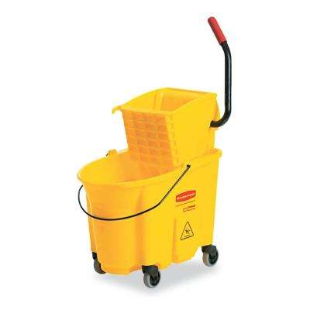 26 Qt. WaveBrake Mop Bucket and Side-Press Wringer Combo