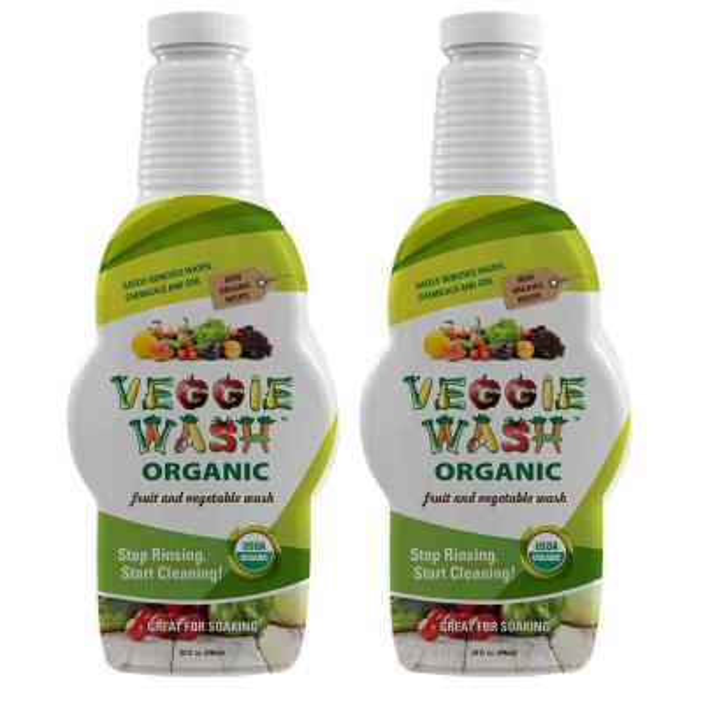 Organic 32 fl. oz. Fruit and Vegetable Wash (2-Pack)