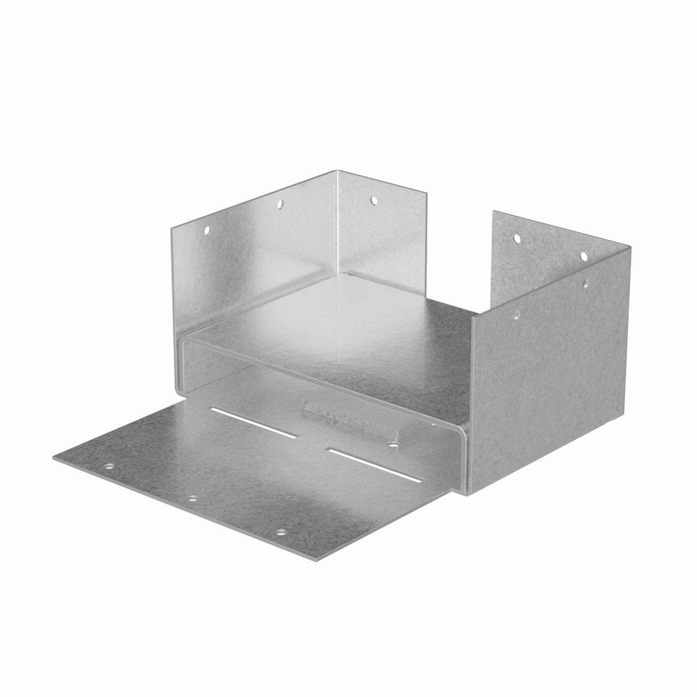 Simpson Strong-Tie ABW ZMAX® Galvanized Adjustable Post Base for 4x6 Rough
