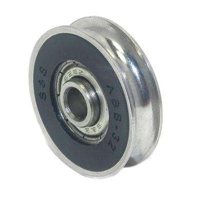 1-1/4 in. Precision Bearing Stainless Steel Wheel (2-Pack)