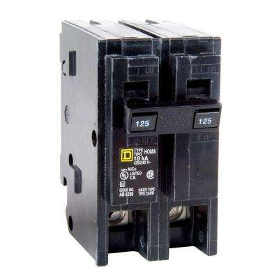 Homeline 125 Amp 2-Pole Circuit Breaker