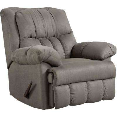 Traditions Gray Rocker Recliner