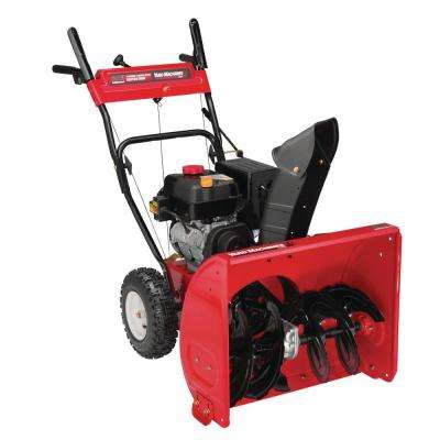 24 in. 208cc 2-Stage Electric Start Gas Snow Blower