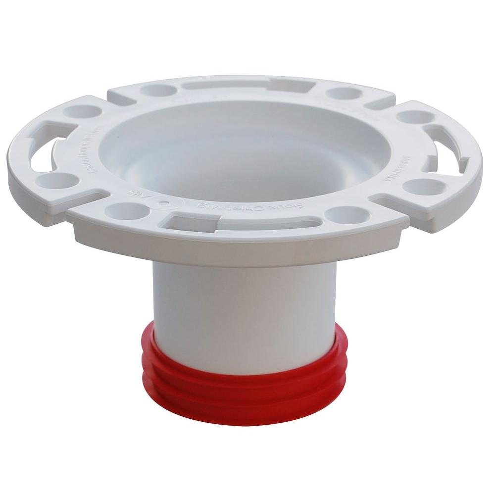 3 In Pvc Dwv Closet Flange 888 Gpm The Home Depot