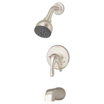 Origins Temptrol 1-Handle Tub and Shower Faucet Trim Kit in Chrome (Valve Not Included)