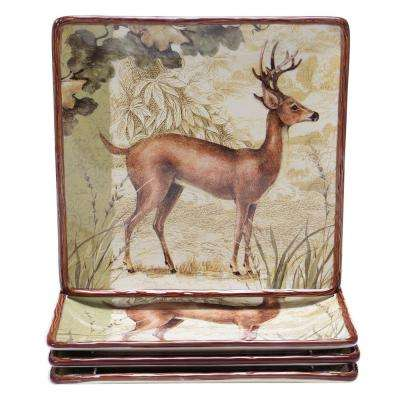 The Rustic Nature 10.25 in. Dinner Plate (Set of 4)