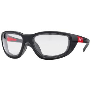 Performance Safety Glasses with Clear Fog-Free Lenses and Gasket