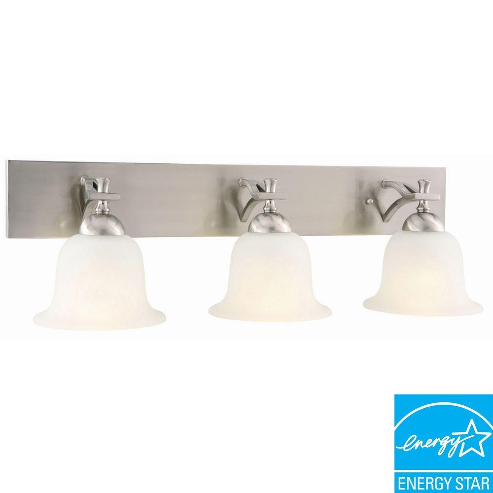 Design House Ironwood 3-Light Satin Nickel Sconce