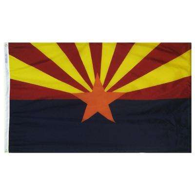 3 ft. x 5 ft. Arizona State Flag