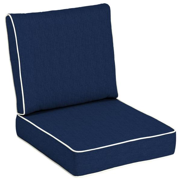 24 x 24 Sunbrella Spectrum Indigo Outdoor Lounge Chair Cushion