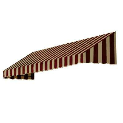 10.38 ft. Wide San Francisco Window/Entry Awning (24 in. H x 42 in. D) Brown/Tan