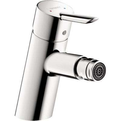 Focus S Single Hole Single-Handle Bidet Faucet in Chrome (Valve Not Included)