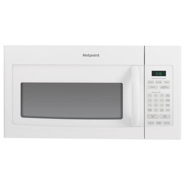 1.6 cu. ft. Over the Range Microwave in White