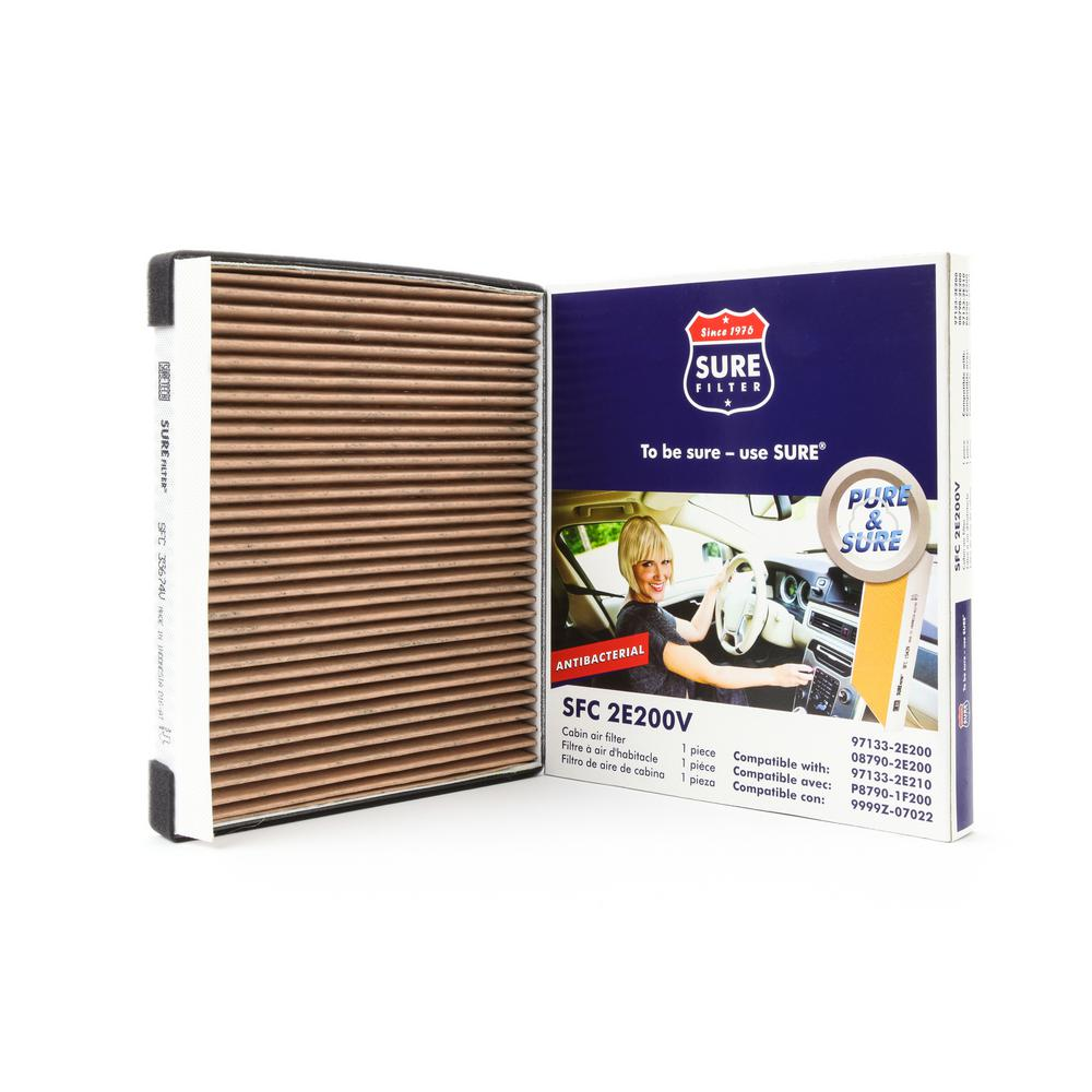 Replacement Antibacterial Cabin Air Filter for Wix 24684 Purolator C35865 Fram