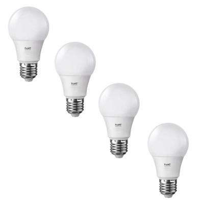 60-Watt Equivalent Soft White E26 LED Non-Dimmable Replacement Light Bulb (4-Pack)