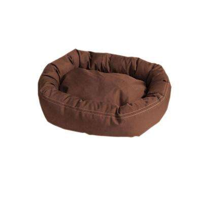 Brutus Tuff Comfy Cup Small Chocolate Bed