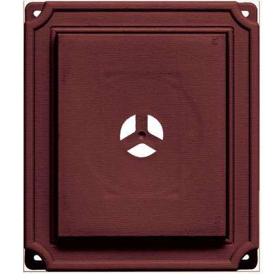 7 in. x 8 in. #078 Wineberry Scalloped Universal Mounting Block