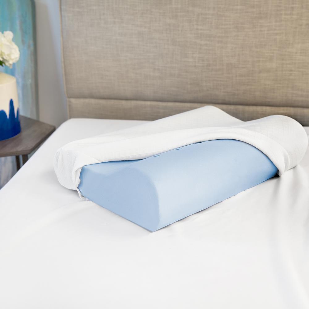 Classic Contour Memory Foam Standard Pillow (Set of 2)