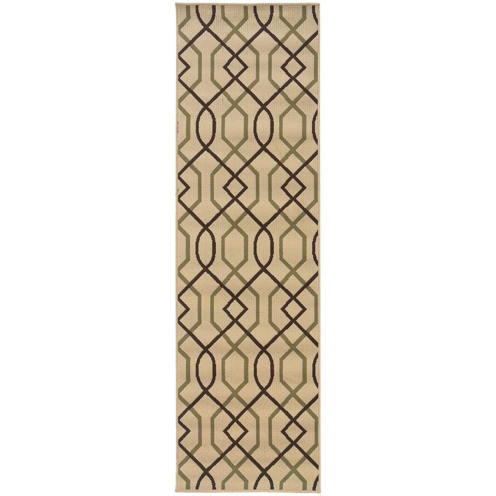 Home Decorators Collection Illusion Beige 2 ft. 3 in. x 7 ft. 6 in ...